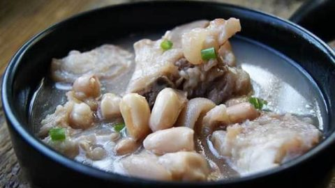 The Peanut And Pig S Feet Soup Miss Chinese Food