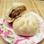 Pork Lentil Stuffed Buns