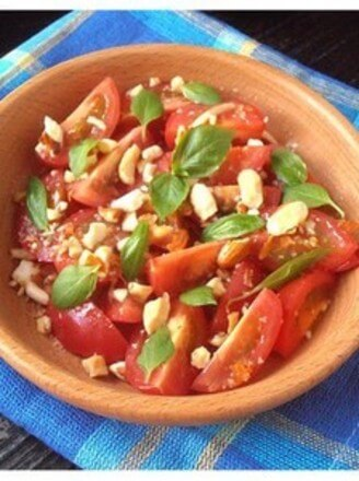 Cherry Tomatoes Salad with Tomatoes