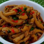 Spicy Cold Mixed Chicken Feet