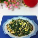 Spinach Mixed with Yellow Bean Sprouts