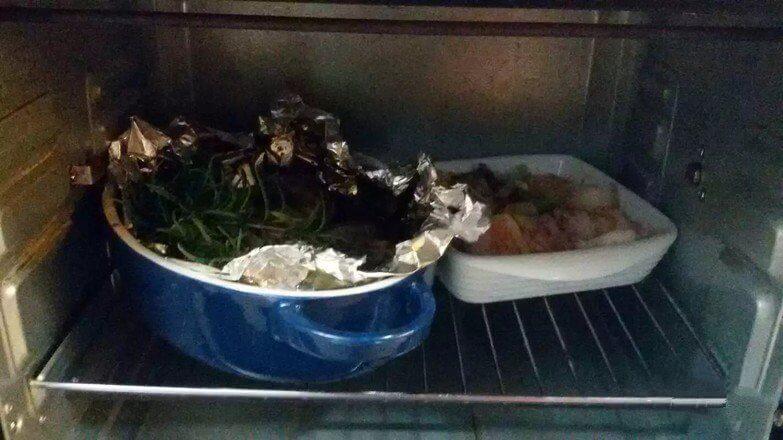 Finally, you get home cooking oven version pork belly mushroom.