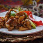 Home-made stir-fried pork
