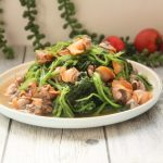 This dish also has appetizing and digestive effects, refreshing and greasy.