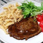 steak pasta set.