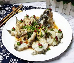 Fish Every Year- Steamed Bass
