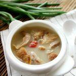 Monkey Head Mushroom Pork Belly Soup