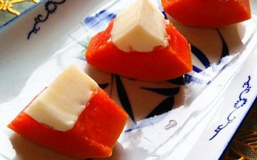 papaya custard