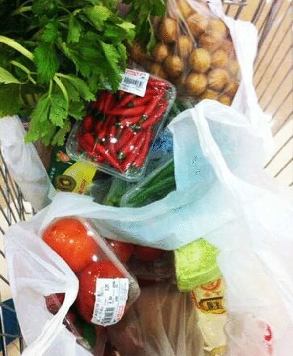 go to the supermarket to purchase the dishes