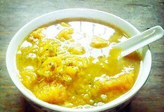 Pumpkin Mung Bean Soup