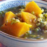 Pumpkin and Mung Bean Soup