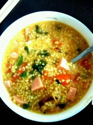 Salty Rice Porridge