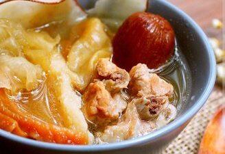Gas Bladder Lodoicea Soup