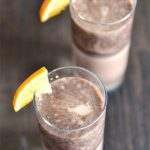 Chocolate Banana Milkshake.