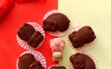 Piggy Black Chocolate.