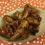 Korean style fried chicken.