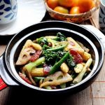 #family fun edition# Stir-fried mixed vegetables with sauce.