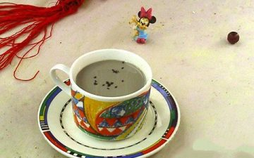 Black Bean Peanut Sesame Soy Milk