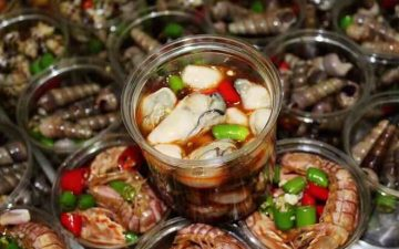 Spicy seafood sauce