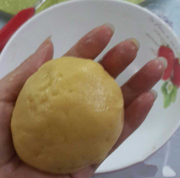Knead into smooth dough by hand