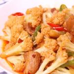 Home-cooked Cauliflower