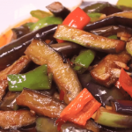 Home-made Fish-flavored Eggplant