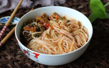 cold rice noodles.