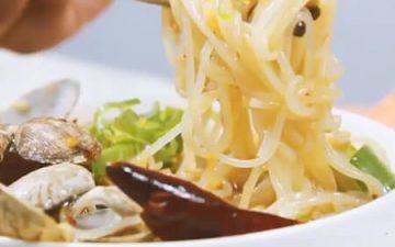 clam rice noodle.