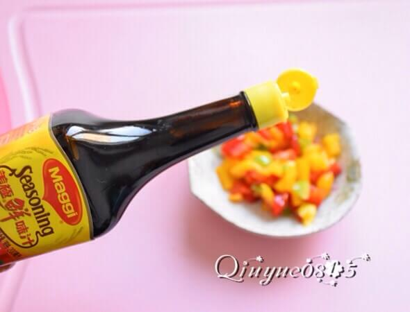 Mix in the umami umami sauce and season