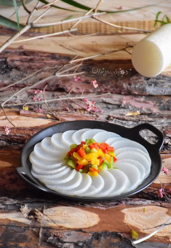 Steamed White Radish