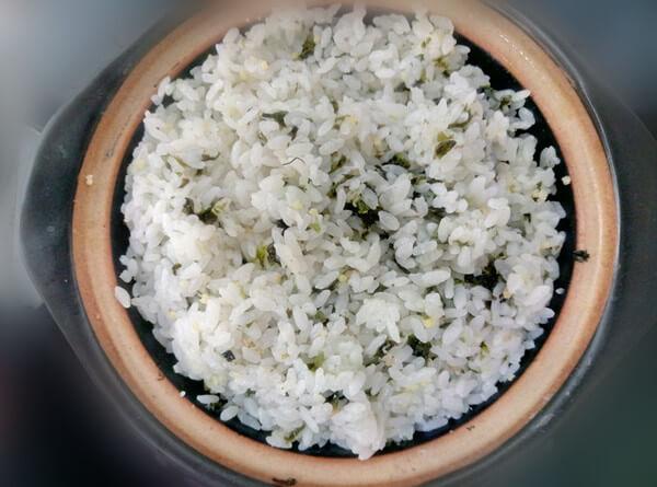 Nori rice is ready! Ming Tai Fish Roe Ocean Delicious