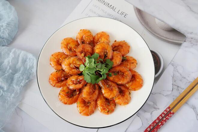 Dry-fired White Shrimp