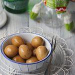 marinated quail eggs