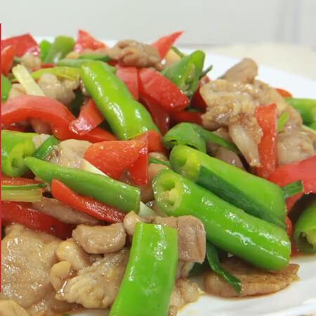 Chili burst meat