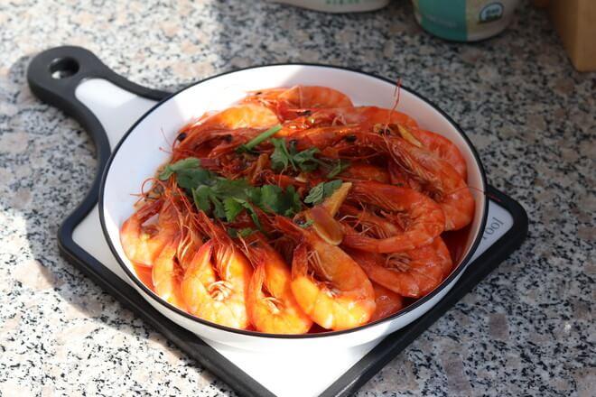 prawns in tomato sauce