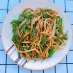 Stir-fried Pleurotus Eryngii With Green Pepper