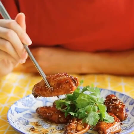dry pot spicy chicken wings.