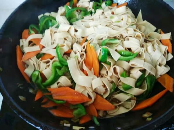 Add green pepper