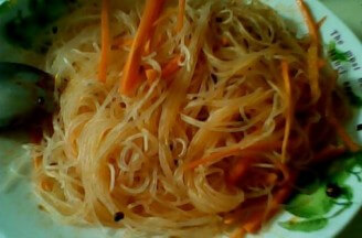 Cold Carrot Vermicelli