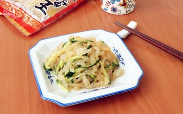 Jellyfish Mixed With Cucumber