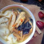 Red Date Medlar Chicken Soup Wonton