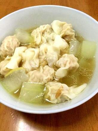 The Boiled Wonton with Wax Gourd