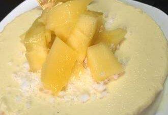 The Sweet and Sour Mango Yogurt Cheese
