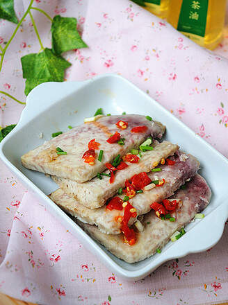 The Simple Steamed Taro
