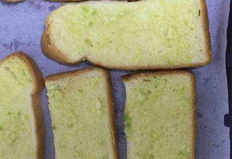 The French Garlic Toast Slice