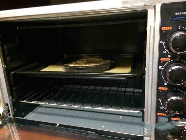 Bake in the oven
